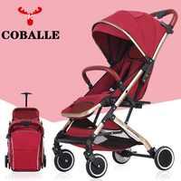 Poussette bébé chariot voiture léger Portable voyage landau enfants poussette bébé buggy peut être dans l'avion EU RU pas de taxe