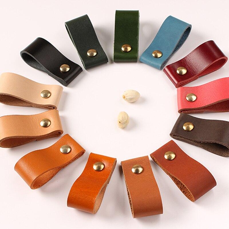 Meubles en cuir Unique trou poignée moderne europe style pull handle knob pour portes armoires armoires