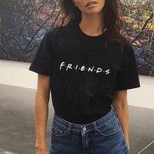 Harujuku Kawaii Tops Friends Tv T Shirt Women Korean Style Fashion Tshirt Ulzzan