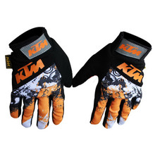 Free shipping  fashion KTM off road gloves motorcycle racing gloves  Bicycle Cycling Gloves  Bike Polyester Off Road Moto Gloves