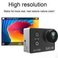 SJCAM SJ7 STAR движения Камера открытый Водонепроницаемый DV Спорт Камера Aerial съемки дайвинг анти Shake Камера HD спортивная камера 4k