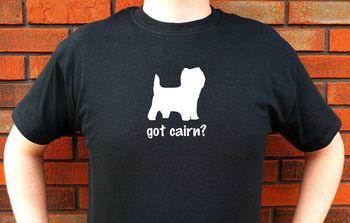 Men Tops Tees 2019 Summer Printed T Shirt Short Sleeve Men Got Cairn? Cairns Terrier Dog Graphic T-Shirt Tee Funny Cute Shirt