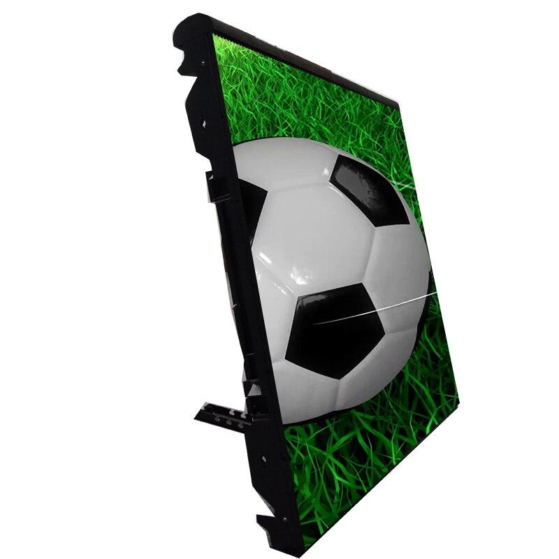 Affichage extérieur imperméable de périmètre de stade de football de football de rvb smd de p6 p8 p10 écran LED pour des affaires de sport