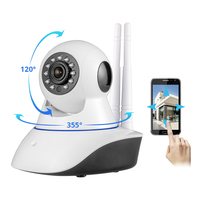 KERUI Wireless WiFi HD IP Camera GSM Home Security Alarm Camera Night vision Remote Surveillance Monitor