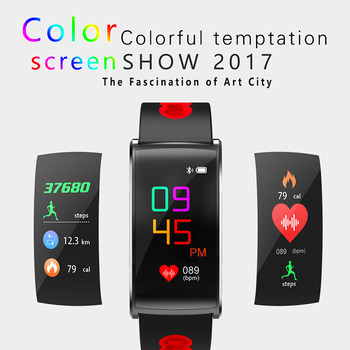 Colorful 0.96inch Touch Screen Smart Bracelet Support Blood Pressure Oxygen Heart Rate Monitor SMS Call Reminder For IOS Android