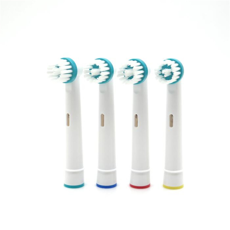 Vbatty 4pcs Replacement Electric Tooth Brush Heads Generic For Oral-B OD-17A Professional Care For Ortho Braces Teeth Clean Tool image