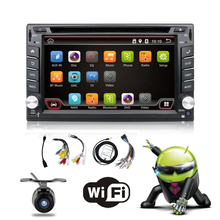 Quad Core 800*480 2 Din Android 4.4 Fit NISSAN QASHQAI Tiida Car Audio Stereo Radio GPS TV 3G WiFi dvd automotivo Universal DDR3
