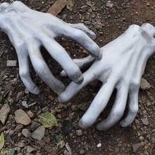 Plastic Made Horror Zombie Hands Halloween Decoration