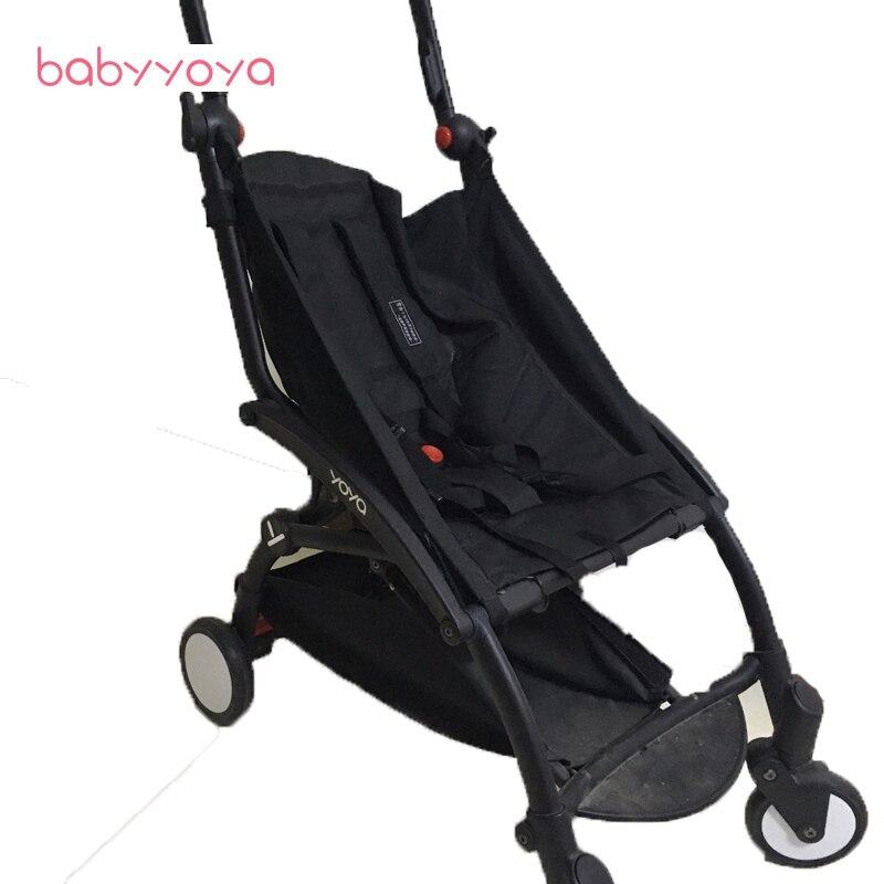 Bébé poussette 165/175 degrés d'origine babyyoya yoya yoyo noir Siège coussin pas comprennent poussette landau Accessoires pad tapis Pièces