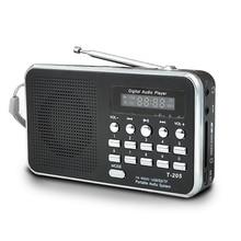 Di Động Mini AM FM Radio Stereo Hỗ Trợ Thẻ SD/Thẻ TF USB