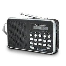 แบบพกพา Mini AM วิทยุ FM สเตอริโอลำโพงสนับสนุน SD/TF Card USB