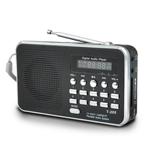 Portable Mini Am Fm Radio Stereo Speaker Support Sd/Tf Card With Usb