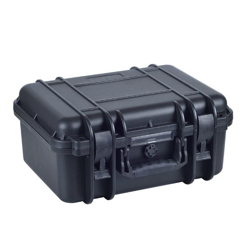 Black waterproof Shockproof plastic hard Storage case with full sponge insideBlack waterproof Shockproof plastic hard Storage case with full sponge inside