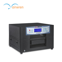 New Shape A4 Eco Solvent Printer For Metal, Wood, Plastic Printing Machine