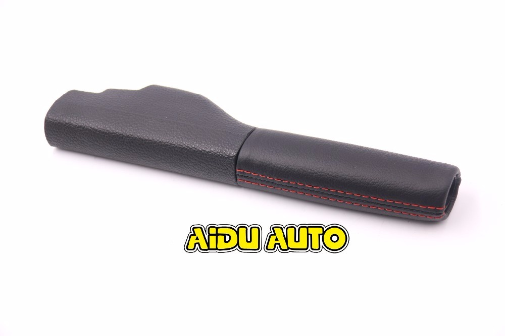 1KD711461A Genuine Leather 1KD71461A Hand Brake Lever Case Cover For VW Golf Mk6 Jetta MK5 Scirocco 1KD 711 461 A