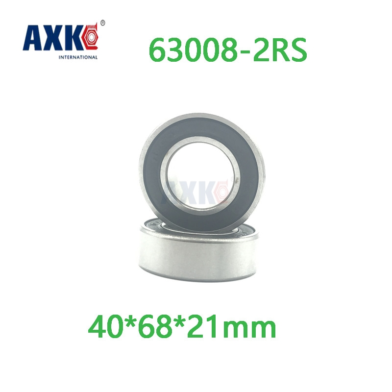 Axk 63008zz Excavator Bearing 63008 2rs 63008-2rs 40*68*21mm 40x68x21mm Double Shielded Deep Ball Bearings Large Breadth gcr15 6326 zz or 6326 2rs 130x280x58mm high precision deep groove ball bearings abec 1 p0