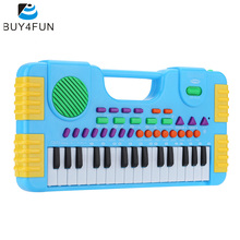 31 Keys Multifunction Mini Electronic Keyboard Music Toy Educational Cartoon Electone Gift for Children Kids Babies Beginners(China)