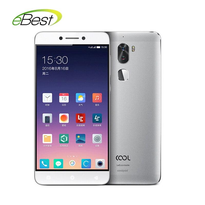 "bilder für Ursprüngliche Letv Kühle 1 Dual Leeco Coolpad Cool1 Snapdragon 652 Handy 3 GB RAM 32 GB 5,5 ""FHD 13MP Fingerprint ID handy"