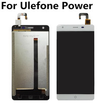 For Ulefone Power LCD Display+Touch Screen Digitizer Assembly Replacement for Ulefone Power lcd display for oukitel power 5 power5 lcd display touch screen digitizer assembly replacement accessories