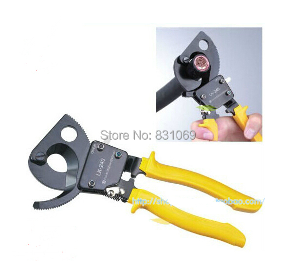 1Pcs  Ratcheting ratchet cable cutter LK-240 240mm2 Max Germany design Wire Cutter Plier, not for cutting steel wire Brand New brand new fabric rear trunk security shield cargo cover beige for honda crv cr v 07 08 09 10 11 2007 2008 2009 2010 2011