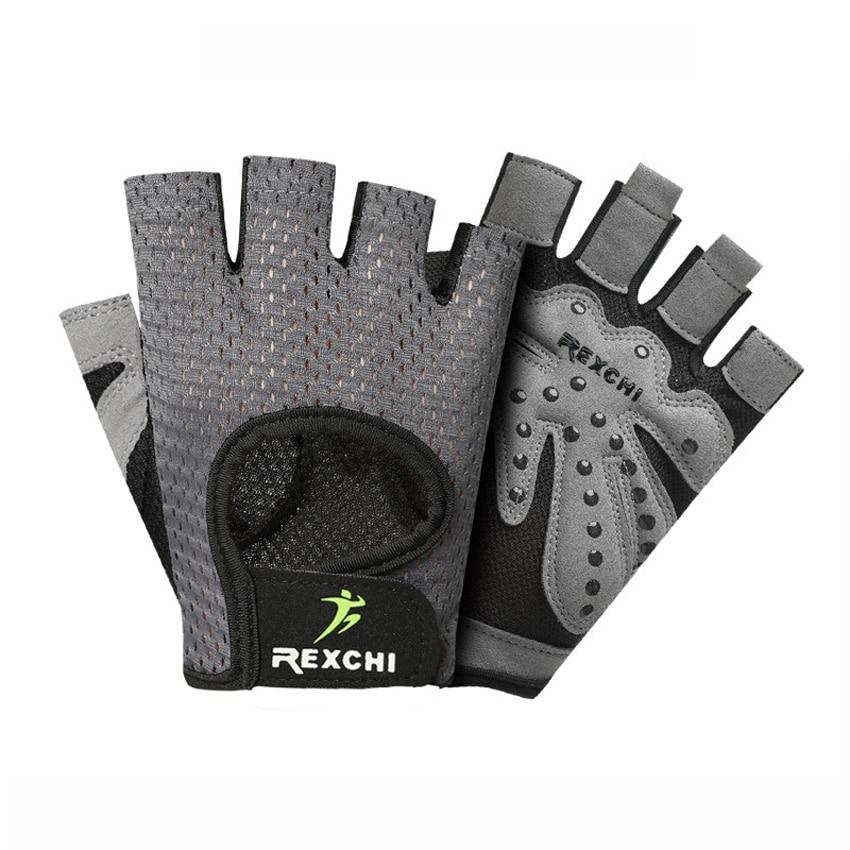 Sports & Entertainment Genteel Men Women Anti-slip Half Finger Weightlifting Gloves Sports Fitness Gloves Powerlifting Dumbbell Crossfit Gloves Hand Protector