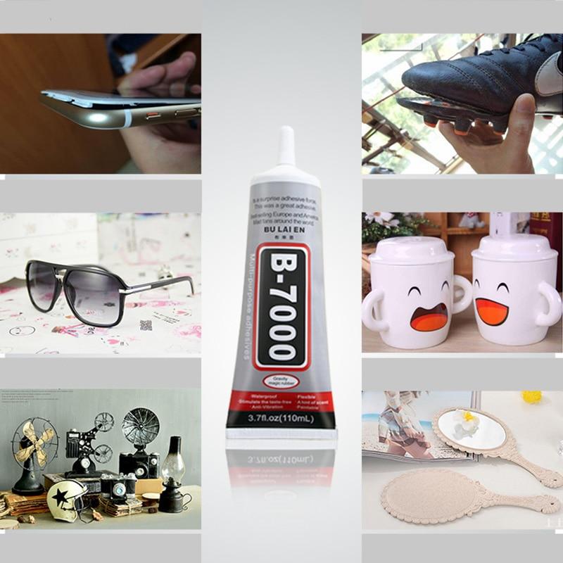 B7000 9ml Multipurpose Adhesive Jewelry Rhinestone Crafts DIY Phone Screen Glass Epoxy Resin Super Liquid Glue B-7000 Nail Gel