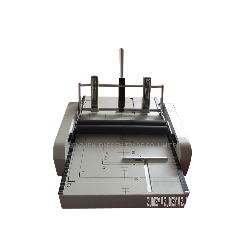 1pcs High Reliable Automatic Stapler And Folding Machine Electric Folding