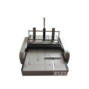 1 piezas de alta automático grapadora y máquina de plegado eléctrico plegable