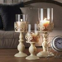 3 Размеры Элегантный Подсвечник куб стоят свечи Свечи Tick металла База Craft votice большой Стекло Свечи Свадебные Подсвечники