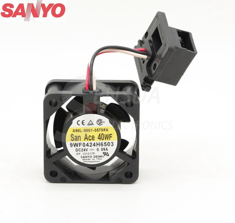 waterproof Sanyo 9WF0424H6503 4020 40mm 4cm DC 24V 0.09A fan