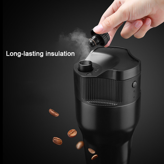 Hot Fashion Electric Coffee Machine Maker USB Portable 550ml For Home Outdoor Travel Cafe US Plug HY99 OC18 3
