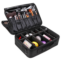 Hot Makeup Bag Professional Cosmetic Bag Waterproof Women Makeup Case Make Up Organizer Large Capacity Storage