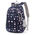 NEW!! Lovely Rabbit Girl's School Backpack Kid School Bag Women Bags Primary School Bags For Class 3-6