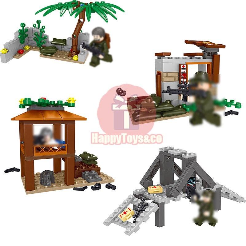 2018 New LELE Creative series 36027 271Pcs Jedi survival battlefield scene toys For Children Gift Building Blocks Set Brain game