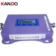 내장 안테나 2g + 4g 리피터 새로운 모델 lcd 디스플레이 듀얼 밴드 gsm dcs 부스터 리피터 dcs 900 1800 mhz 4g 부스터