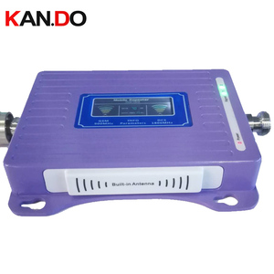 Image 1 - built in antenna 2G+4G repeater new model LCD display dual bands GSM DCS booster repeater DCS 900 1800mhz 4g booster