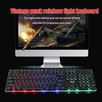 98 HXSJ J40 USB Wired Colorful Backlight Keyboard 5500DPI Adjustable Mouse for Windows 98/Me/2000/XP/Vista/Win7/8/10/Vista/Mac OS (3)