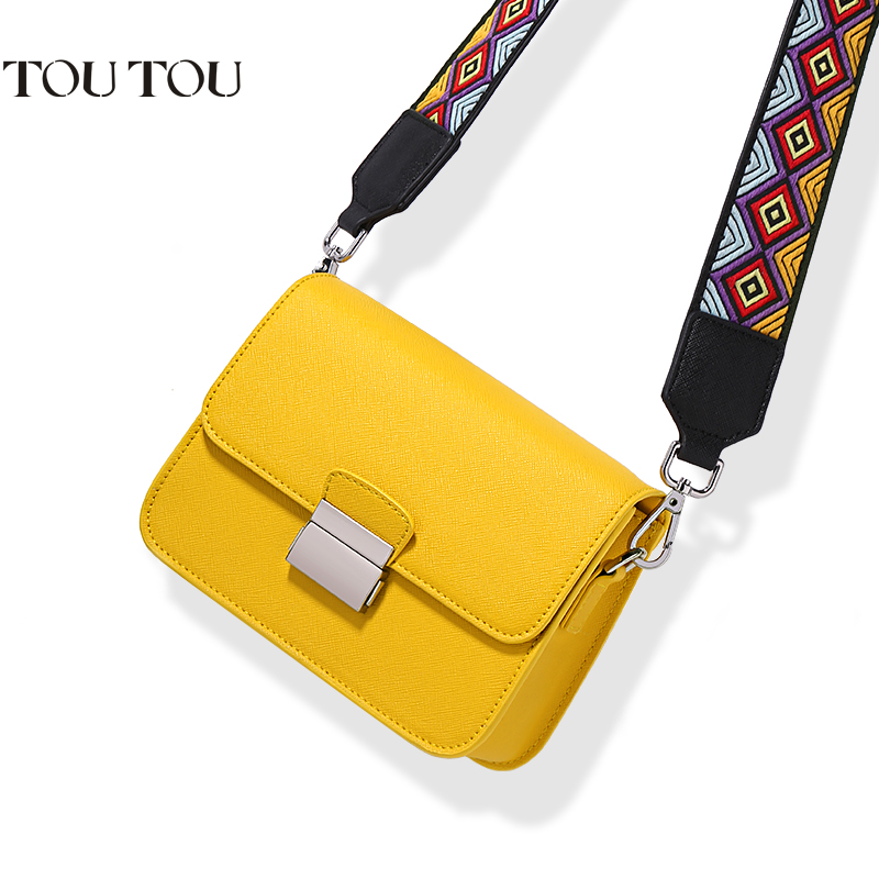 A1637 Mini flap Bag Ladies PU Leather Women Messenger candy color Bags lovely girl Small sweet Crossbody Bag two Shoulder straps