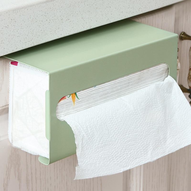 Держатель для туалетной бумаги шкаф висячий Тип подставка для туалетной бумаги коробка для салфеток шкаф Висячие съемные стойки бумажная Полка для полотенец