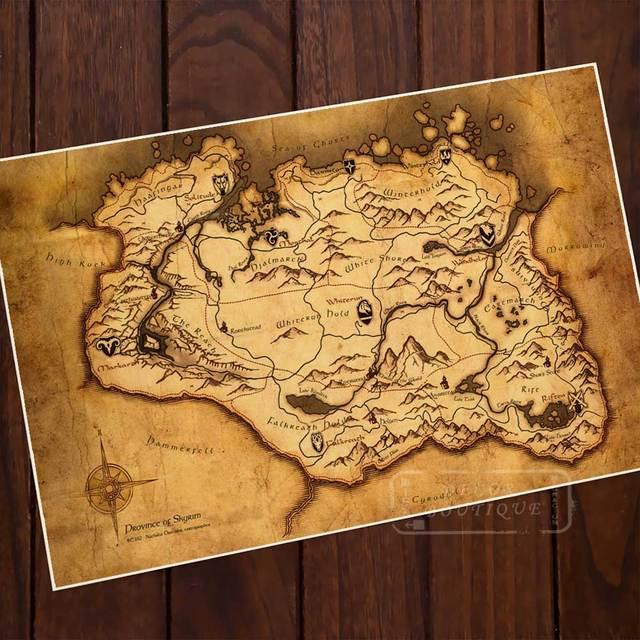 skyrim map elder scrolls v » Path Decorations Pictures   Full Path ...
