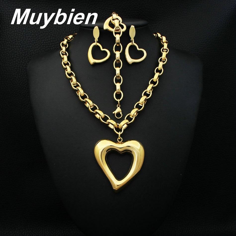 La joyería más nueva del acero inoxidable del corazón de la - Bisutería - foto 1