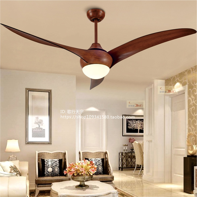 Ceiling fan with pendant light tcworks nordic fan pendant lights dining room bedroom american retro simple aloadofball Images