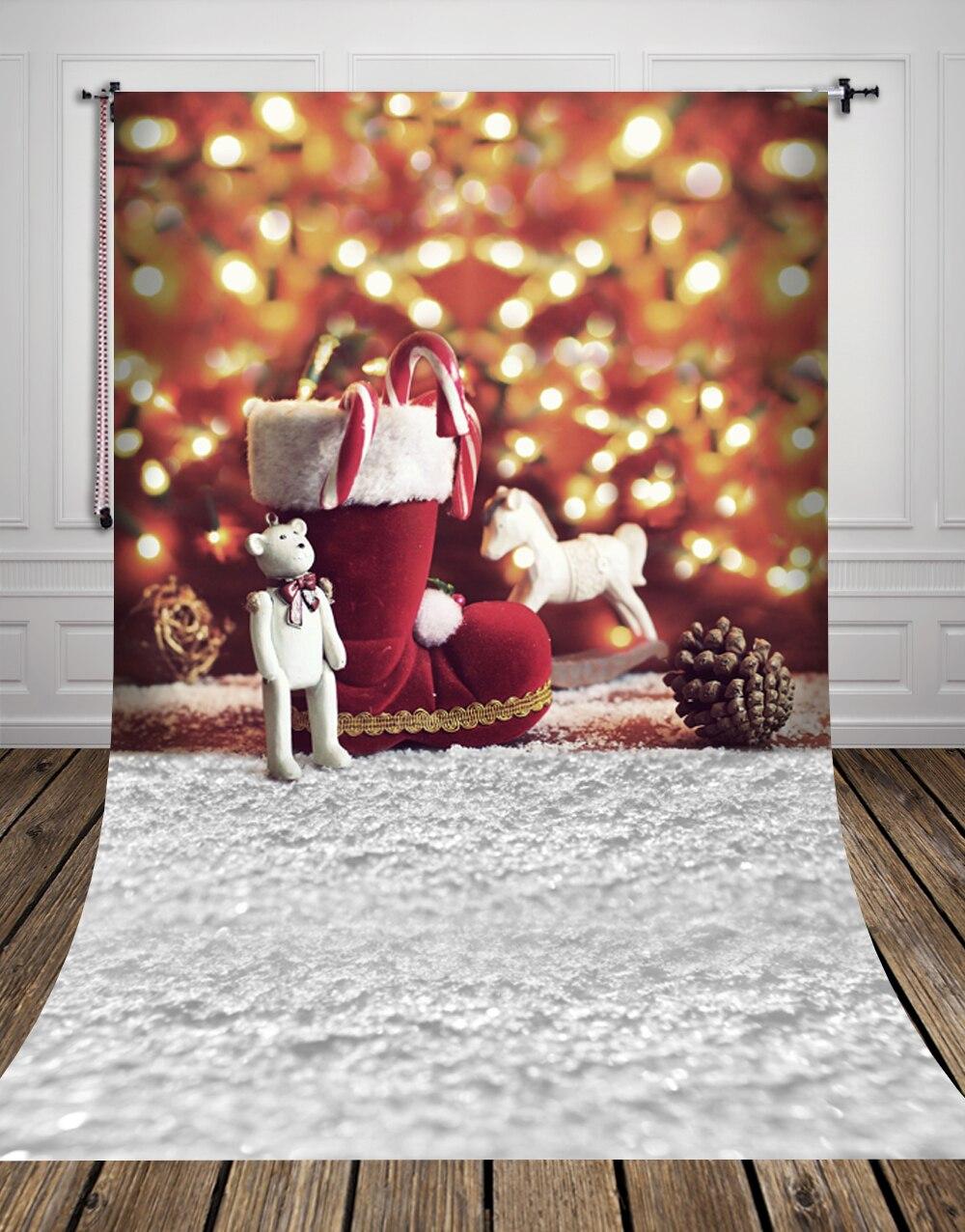 HUAYI Photography Backdrop christmas backdrops Photo Prop Christmas decoration Art Fabric backgrounds D8249