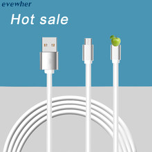 1/2M USB Cable For iPhone Android Micro USB Fast Charging line Mobile Phone Charger Data Cables for Samsung for xiaomi huawei(China)