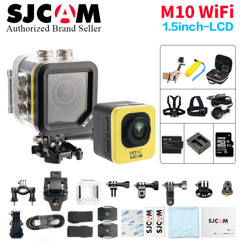 SJCAM M10 WIFI Sports Action Camera Waterproof Full HD 1080P Novatek96655 Mini Sports DV 30M Underwater better go cam pro sport
