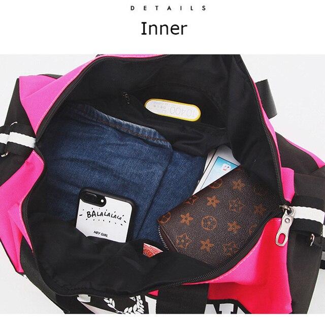 Pink Gym Bag  4