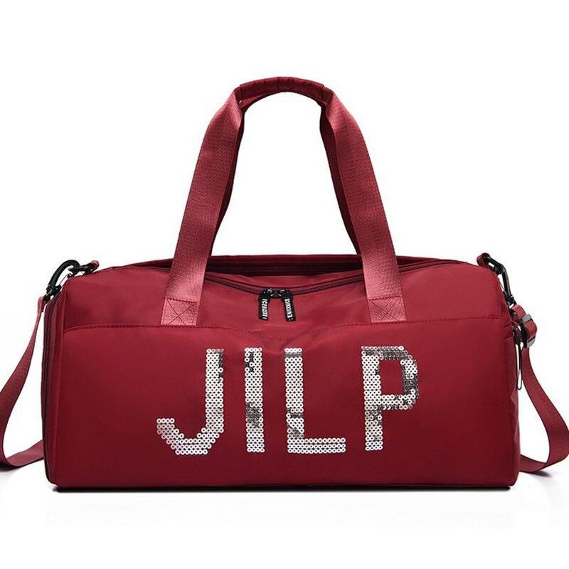 ★  Trend Sequins Сумка для путешествий большой емкости для сухого и влажного разделения Спортивная сумк ✔