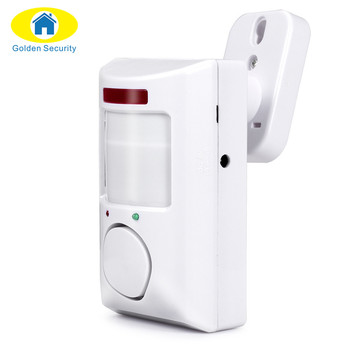 Golden Security Portable 110dB PIR Motion Detector Infrared Anti-theft Motion Detector Home Security Alarm system+2 controllers 1