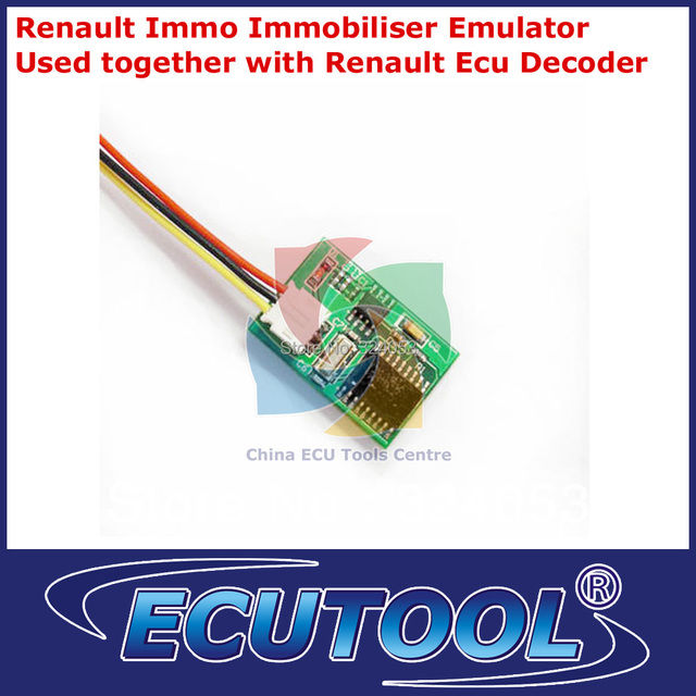 Renault Immo Immobilizer Emulator - Renualt ECU Decoder Repair module