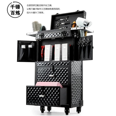Suitcase Rolling-Luggage Cosmetic Professional Large Brand Custom Hairdressing-Tools